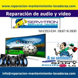 Reparación de audio y video reparacion-mantenimiento-lav